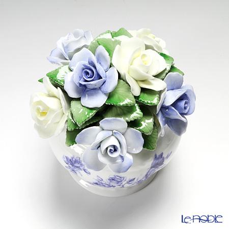 Aynsley 'Elizabeth Rose Blue' Floral Cascade Bowl (S)
