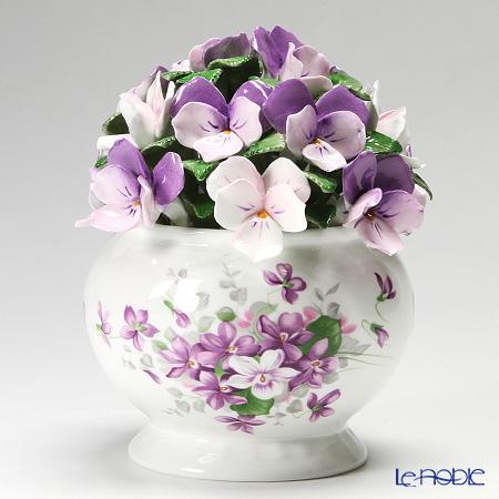 Aynsley English Violets Florals Cascade Bowl LS