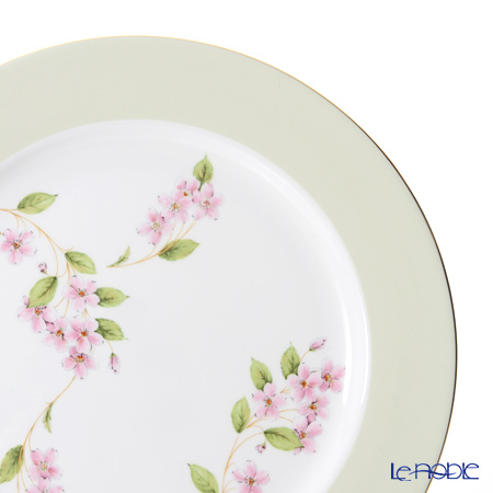Aynsley Cherry Blossom Green Band Service Plate