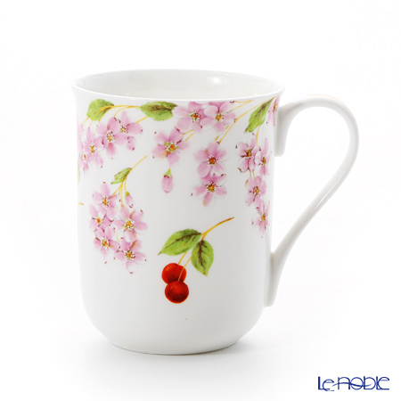 Aynsley 'Cherry Blossom Happiness' Mug 300ml