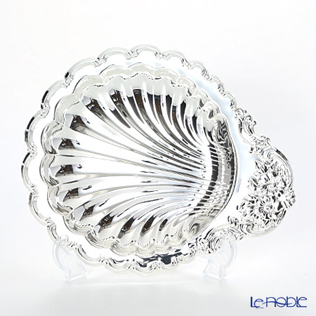 Queen Anne / Silver Plated '0/150' Shell Dish 20x24cm