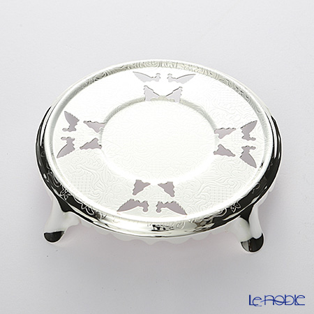 Queen Anne / Silver Plated '0/2012' Teapot Stand 13.5cm