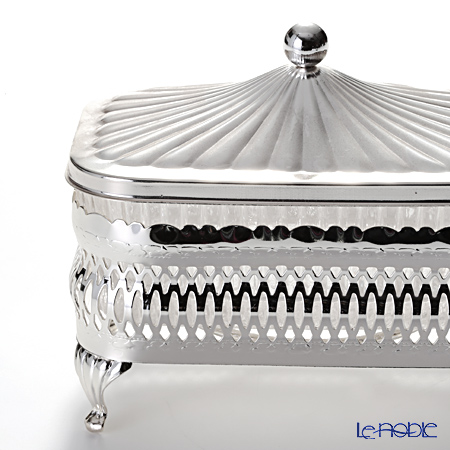 Queen Anne / Silver Plated '0/4904' Oblong Butter Dish 12.5x8cm