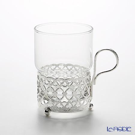 クイーン アン QUEEN ANNE(イギリス製銀メッキ) グラスカップ ハンドル付/アンティーク 0/6322/A