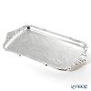 Queen Anne / Silver Plated '0/6455' Oblong Tray with integral handles 49x27cm (L)