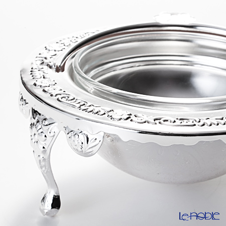 Queen Anne / Silver Plated '0/6500/2' Revolving Butter Dish