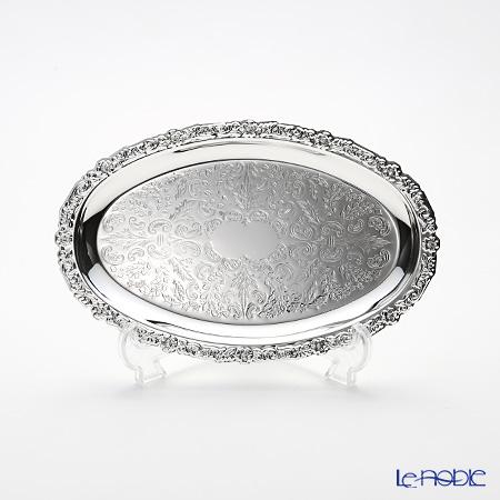 クイーン アン QUEEN ANNE(イギリス製銀メッキ) オーバルトレイ S 0/6852/2