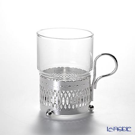 クイーン アン QUEEN ANNE(イギリス製銀メッキ) グラスカップ ハンドル付/ローマン 0/6322/R