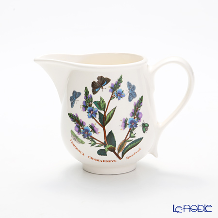 Portmeirion Botanic Garden Cream Jug Romantic Shape, Speedwell