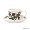 Portmeirion 'Botanic Garden - Heartsease' Drum Shape Tea Cup & Saucer 200ml