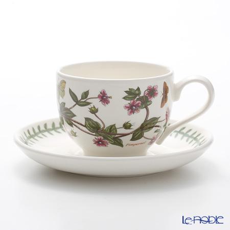 Portmeirion Botanic Garden Teacup and Saucer (T), Pimpernel