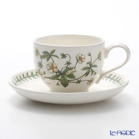 Portmeirion Botanic Garden Teacup and Saucer (T), Cinqufoil