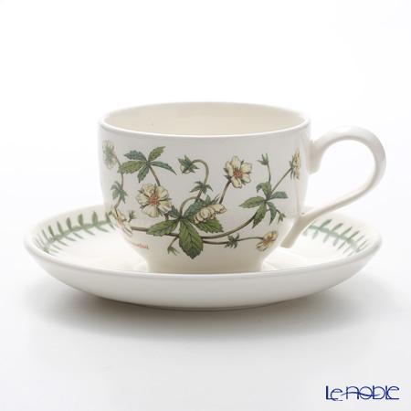 Portmeirion 'Botanic Garden - Cinqufoil' Tea Cup & Saucer 200ml