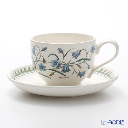 Portmeirion 'Botanic Garden - Harebell' Tea Cup & Saucer 200ml