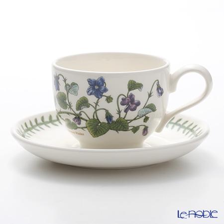 Portmeirion Botanic Garden Teacup and Saucer (T), Sweet Violet