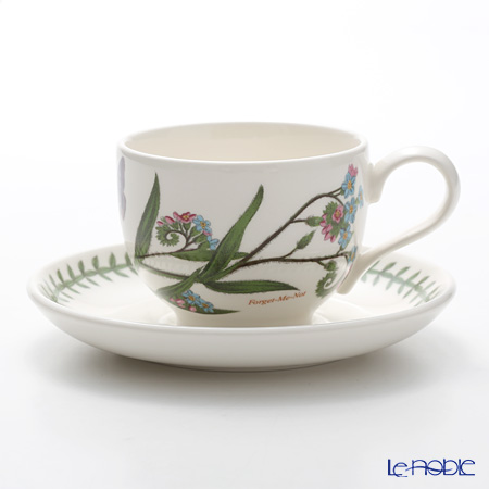 Portmeirion Botanic Garden Teacup and Saucer (T), Forget me Not
