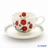 Portmeirion Botanic Garden Flower of the Month October Teacup and Saucer, Dahlia