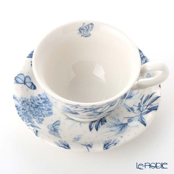 Portmeirion 'Botanic Blue' Tea Cup & Saucer 170ml