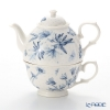 Portmeirion 'Botanic Blue' Tea for One (Cup & Pot)