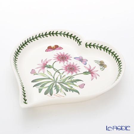 Portmeirion Botanic Garden Heart Dish, Treasure Flower