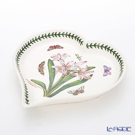 Portmeirion Botanic Garden Heart Dish, Belladonna Lily