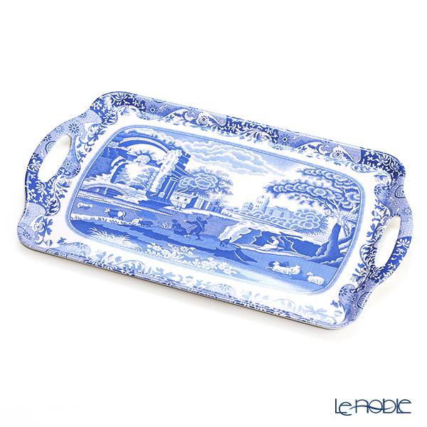 ピンパーネル スポードブルーイタリアン ラージ トレイ 48×29.5cm メラミン製