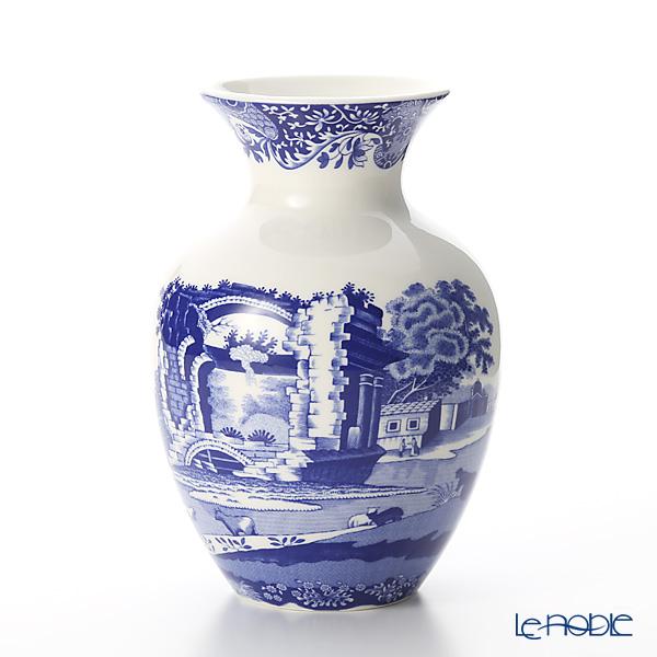 Spode Blue Italian Vase 15 cm