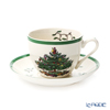 Spode 'Christmas Tree' Tea Cup & Saucer 200ml