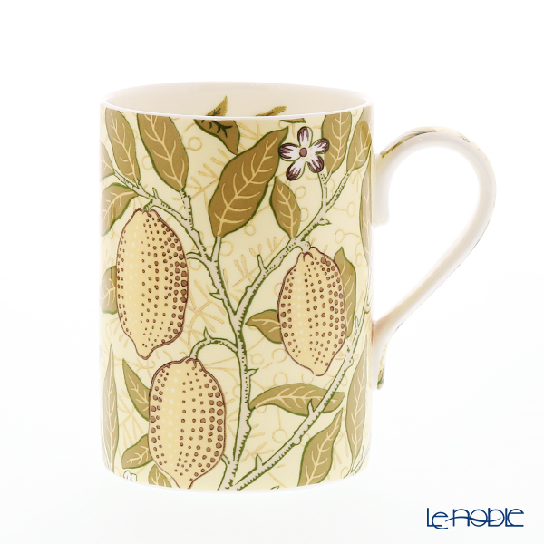 Royal Worcester Morris and Co for Royal Worcester Fruit Limestone and Artichoke Mug