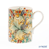 Royal Worcester Morris and Co for Royal Worcester Golden Lily Orange Mug