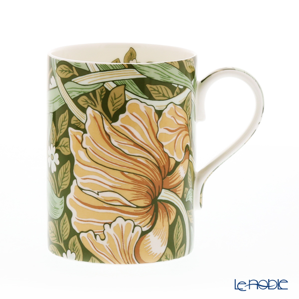 Royal Worcester William Morris Pimpernel Mug 350 cc (green)