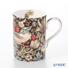 Royal Worcester x William Morris 'Strawberry Thief' Chocolate Brown Mug 350ml