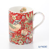 Royal Worcester x William Morris 'Strawberry Thief' Crimson Red Mug 350ml