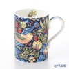 Royal Worcester x William Morris 'Strawberry Thief' Indigo Blue Mug 350ml