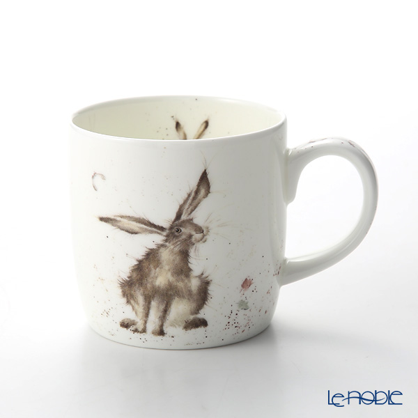 Royal Worcester 'Wrendale' Good Hare Day (Hare / Rabbit) Mug 330ml