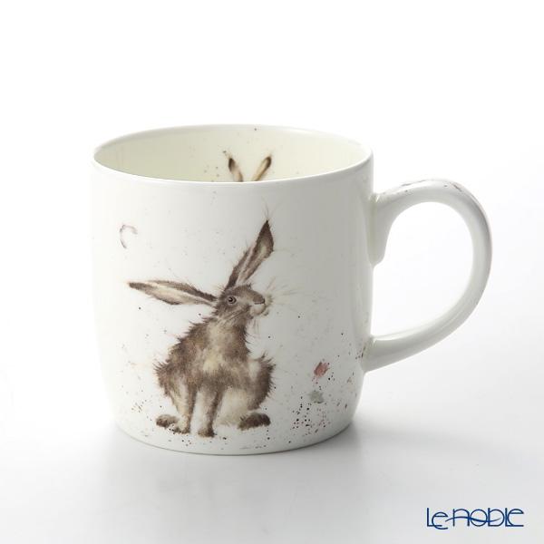 ロイヤル・ウースター レンデル マグ 330cc Good Hare Day 野ウサギ