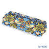 Pimpernel 'Strawberry Thief by William Morris' Blue Sandwich Tray 38.5x17cm [melamine resin]