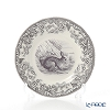 Spode 'Delamere Rural - Rabbit' Black Plate 16cm