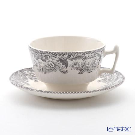 Spode 'Delamere Rural' Black Tea Cup & Saucer 200ml