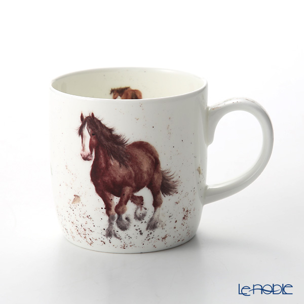 Royal Worcester 'Wrendale' Gigi (Horse) Mug 330ml