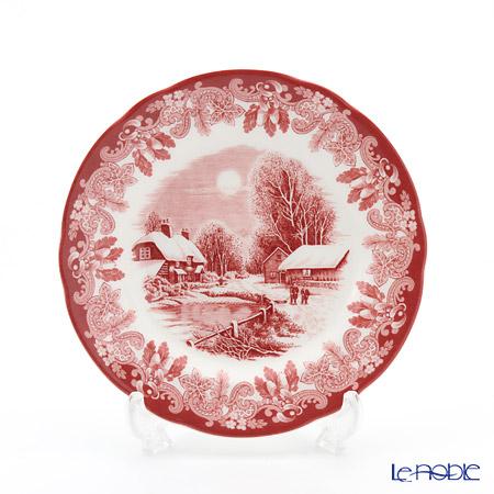 Spode Winter's Scene Plate - deer 15 cm