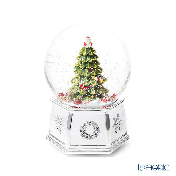 スポード クリスマスツリー オルゴール付 スノーグローブ ミュージカル 19W