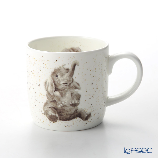 Royal Worcester 'Wrendale' Role Model (Elephant) Mug 330ml