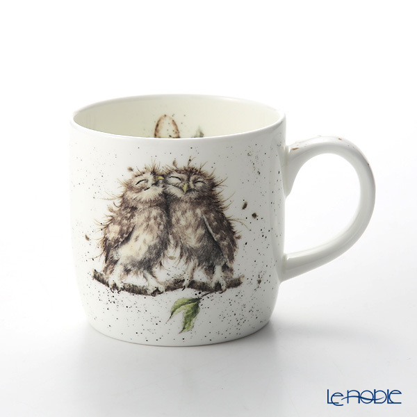 Royal Worcester 'Wrendale' Birds of a Feather (Owl / Bird) Mug 330ml