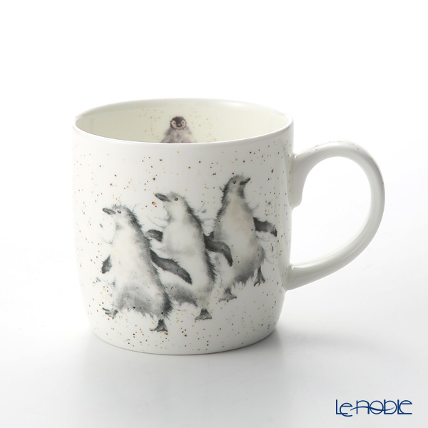 Royal Worcester 'Wrendale' Out on the Town (Penguin) Mug 330ml