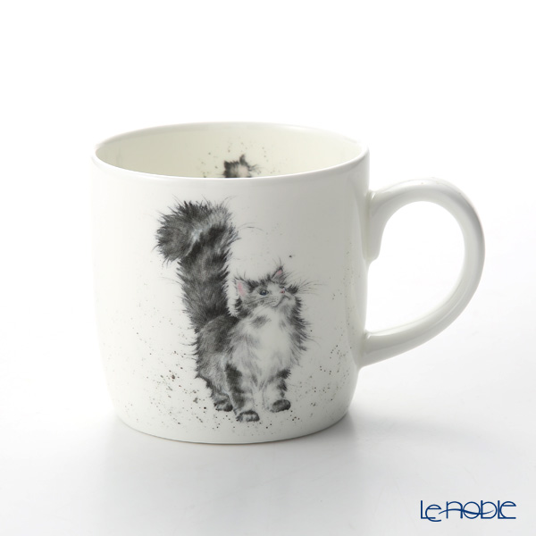 Royal Worcester 'Wrendale' Lady of the House (Cat) Mug 330ml