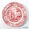 Spode 'Cranberry Italian' Red Plate 26.5cm