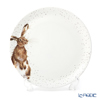 Royal Worcester Rendell Coupe Plate 26.7cm Wild Rabbit