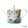 Portmeirion 'Atrium - Floral / Geo' Tea Pot 1100ml