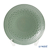 Portmeirion 'Atrium - Embossed' Green Plate 31cm